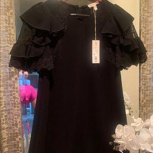 ❣︎ Rebecka Tailor Black ruffle dress ❣︎
